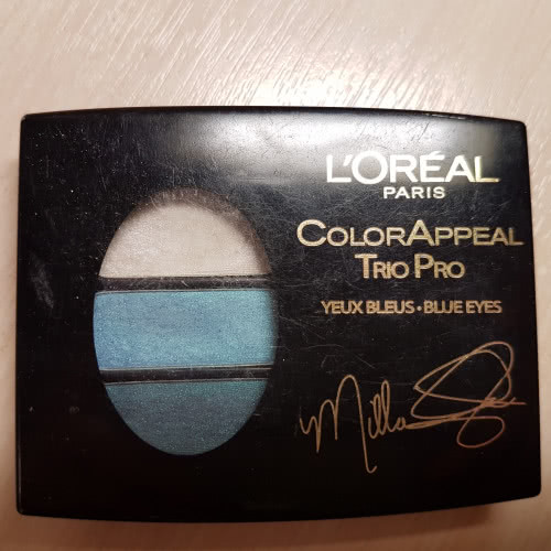 Тени Для Век L'oreal Color appeal trio pro star secrets