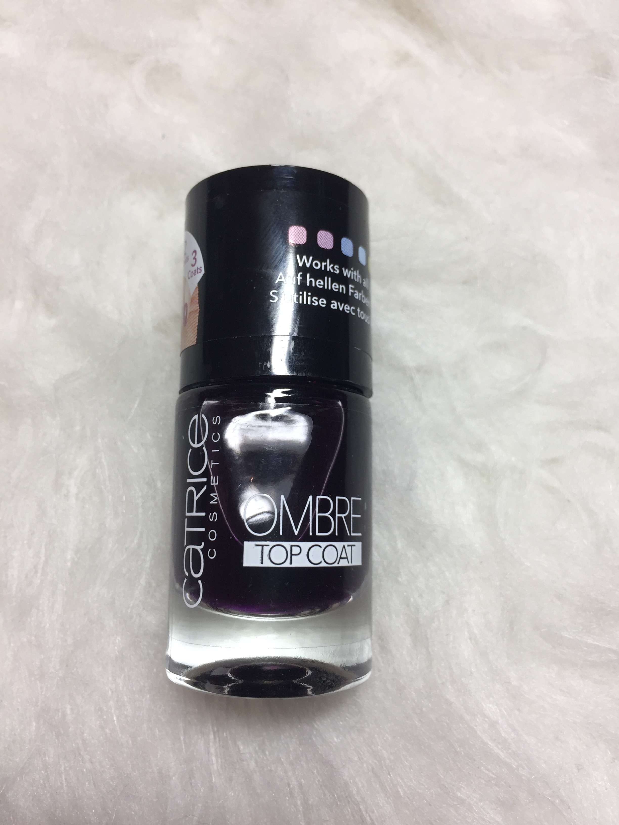 Ombré top coat Catrice
