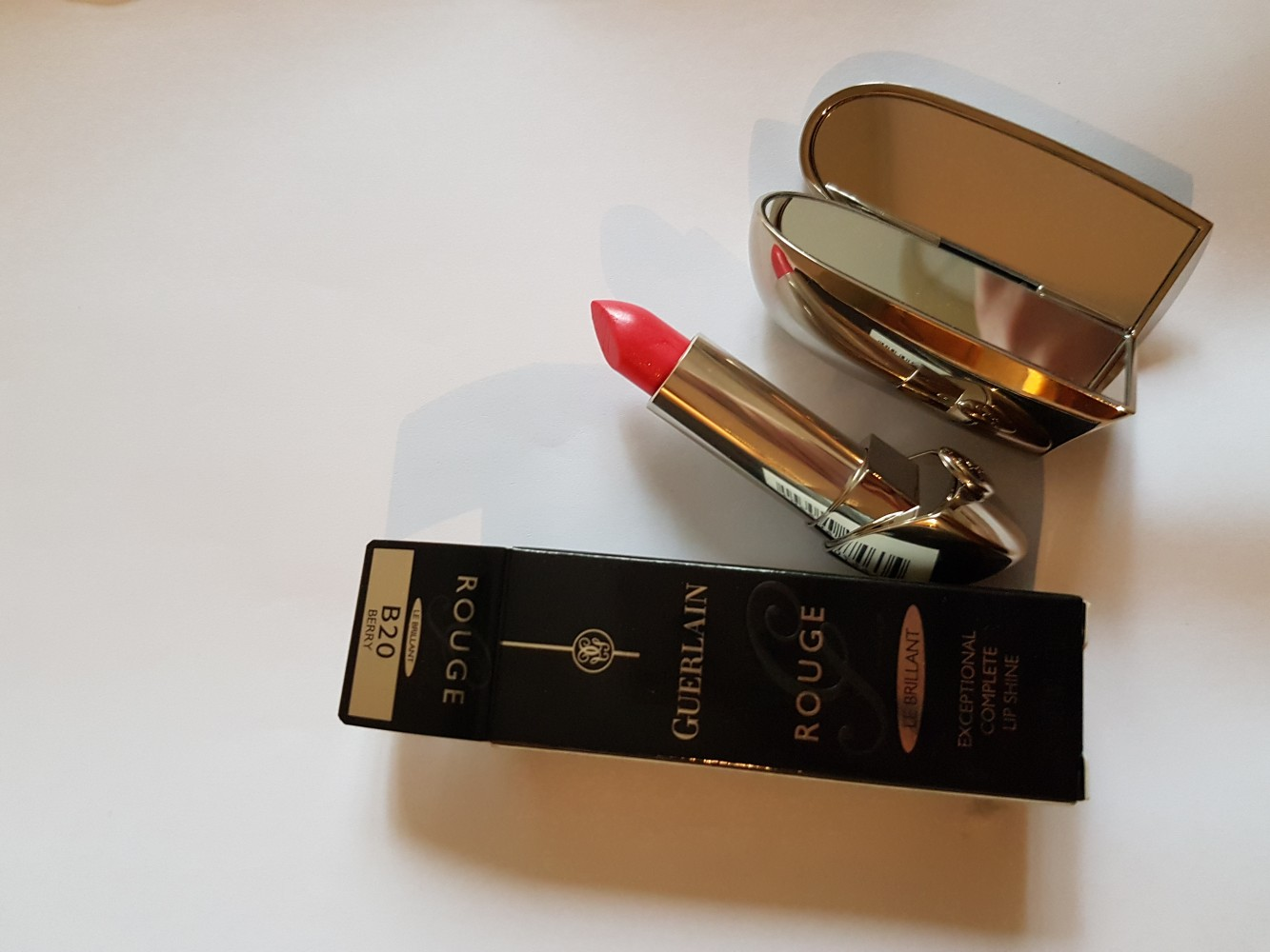GUERLAIN ГУБНАЯ ПОМАДА ROUGE G - LE BRILLANT