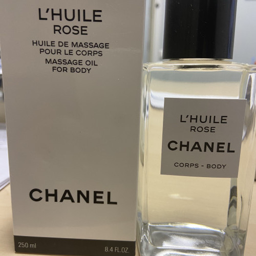 Новое. Chanel Body Oil Collection L'Huile Rose 250ml