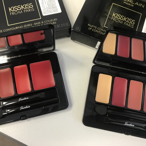 Guerlain KissKiss from Paris Palette.001 Passionate Kiss ;002 Romantic Kiss