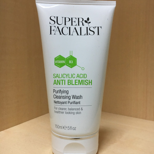 Очищающий гель Super Facialist Salicylic Acid Anti Blemish Purifying Cleansing Wash