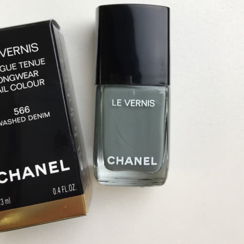 Sale! Новый лак CHANEL LE VERNIS 566 WASHED DENIM