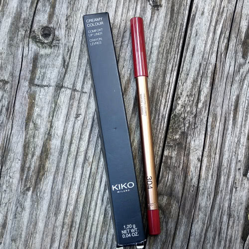 Карандаш для губ Kiko Creamy Colour Control Lip Liner 304 Wine