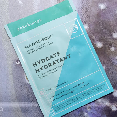 Маска Patchology FlashMasque Hydrate 5 Minute Sheet Mask