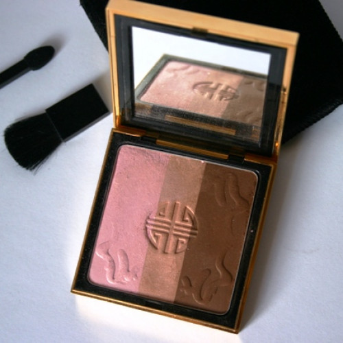 Пудра компактная для лица и век / Palette Signes D'Orient Collector Powder for Eyes and Complexion от Yves Saint Laurent 7gr (Limited Edition осень-зима 2006/07)