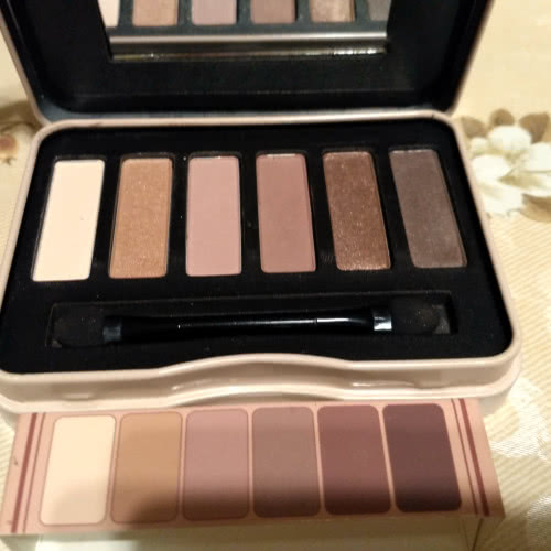 BeYu Natural Nudes Eyeshadow Palette by Irma в оттенке 2 Nude Rosé