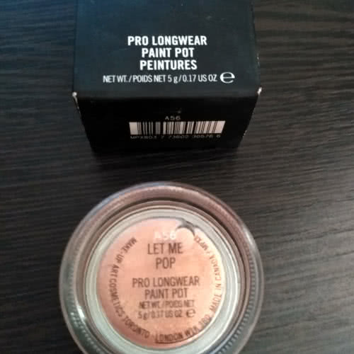 Mac Pro Longwear Paint Pot Peintures # Let Me Pop