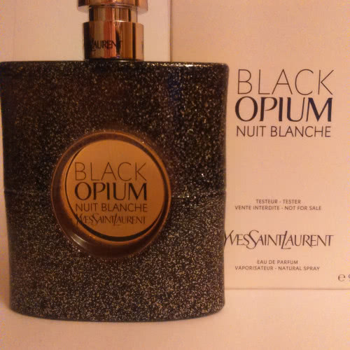 Black Opium Nuit Blanche (2016)  by Yves Saint Laurent  EDP 90 ml
