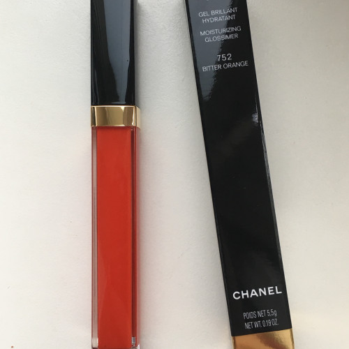 Chanel Rouge Coco Gloss НОВЫЙ блеск для губ #752 Bitter Orange
