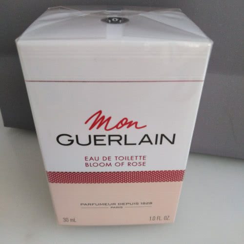 GUERLAIN MON GUERLAIN BLOOM OF ROSE EAU DE TOILETTE, 30 мл